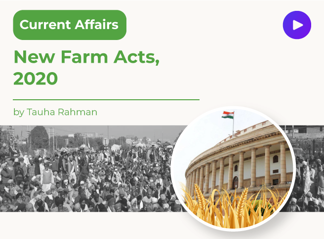 New Farm Acts, 2020
