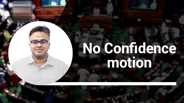 No confidence motion