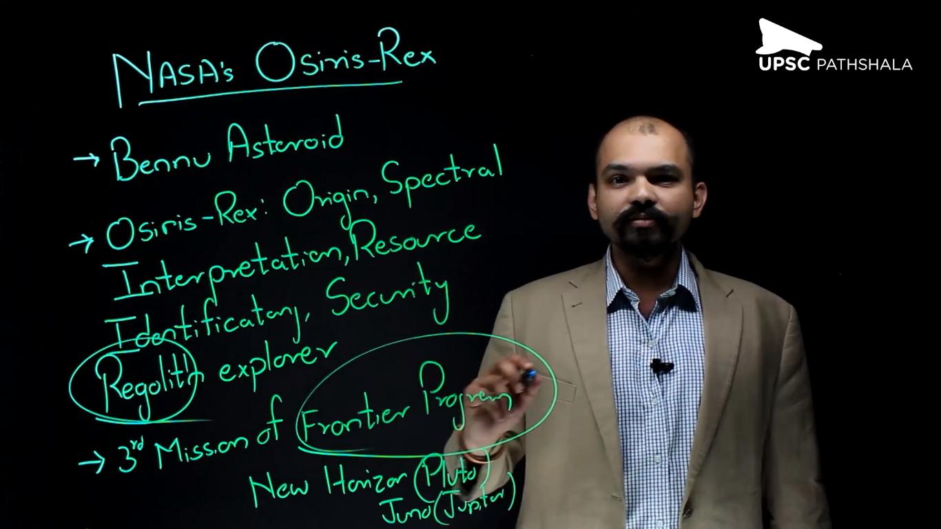Nasa's Osiris Rex Mission
