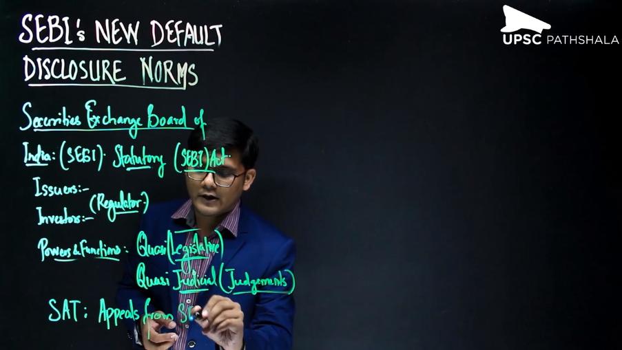 SEBI New Default Disclosure Norms