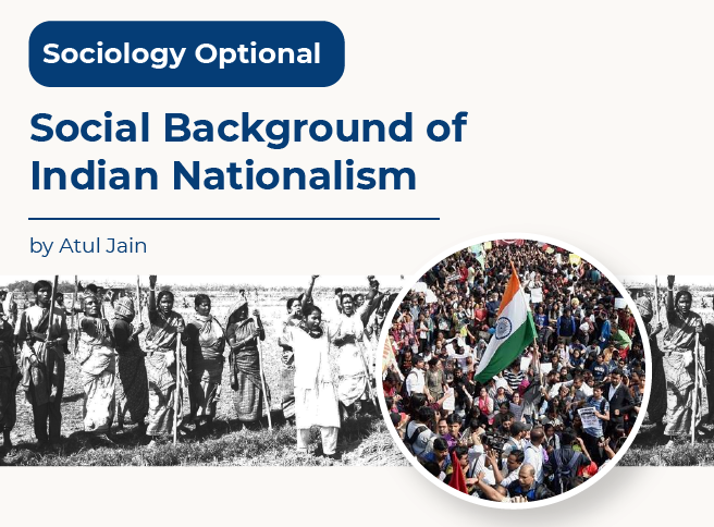 Social Background of Indian Nationalism