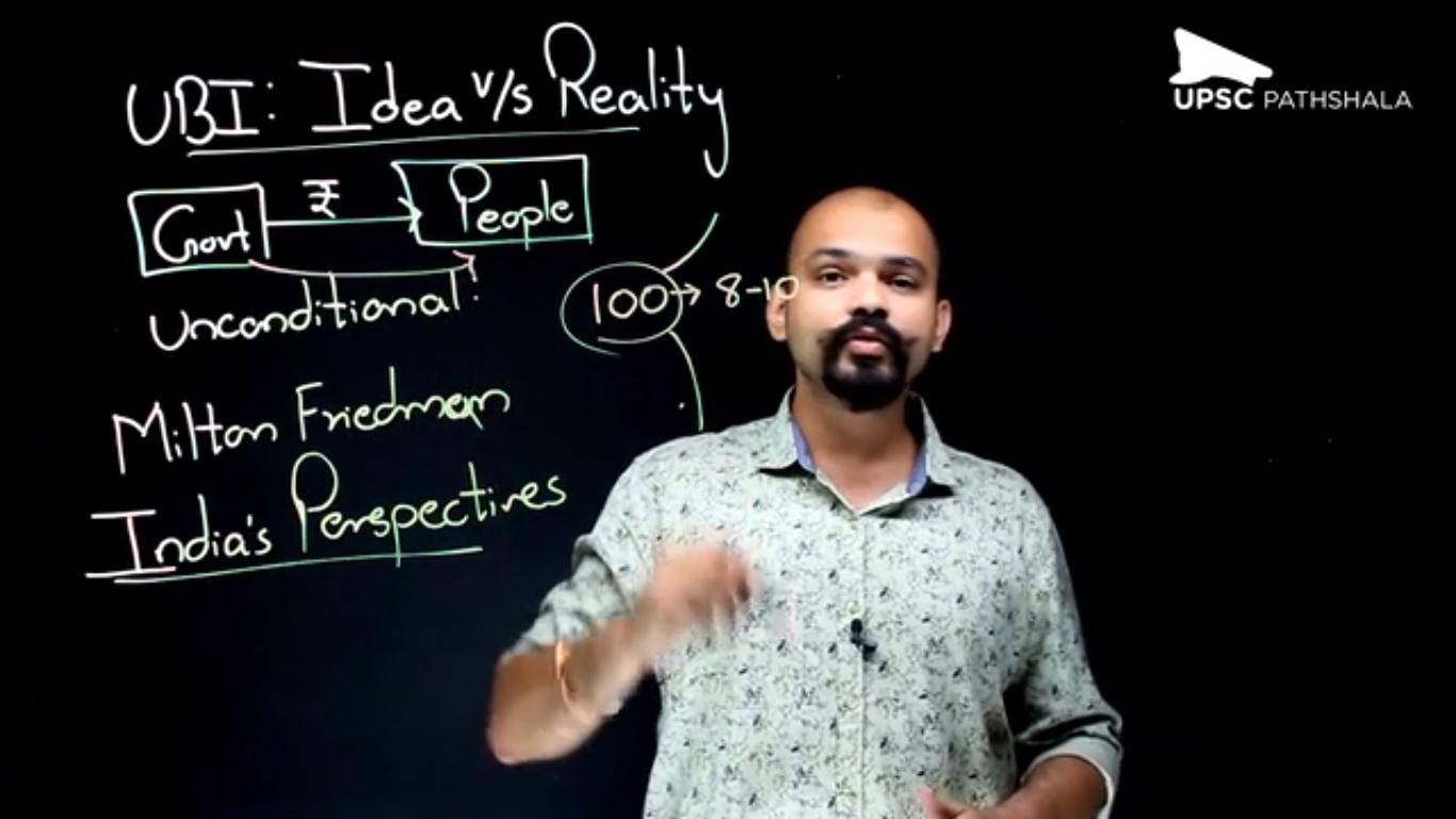 Universal Basic Income (UBI): Idea v/s Reality