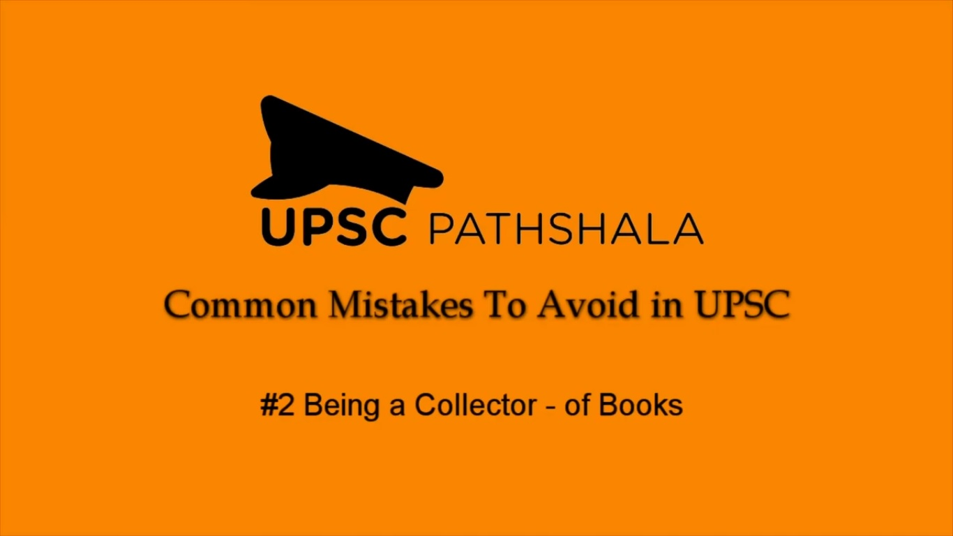 Common Preparation Mistakes: #2 Being a Collector - of Books