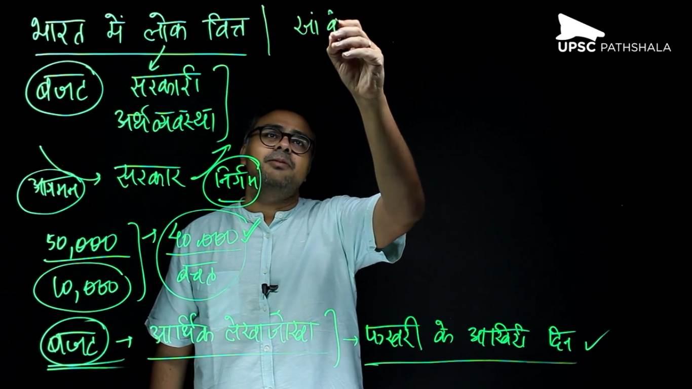 Economics Hindi - Budget