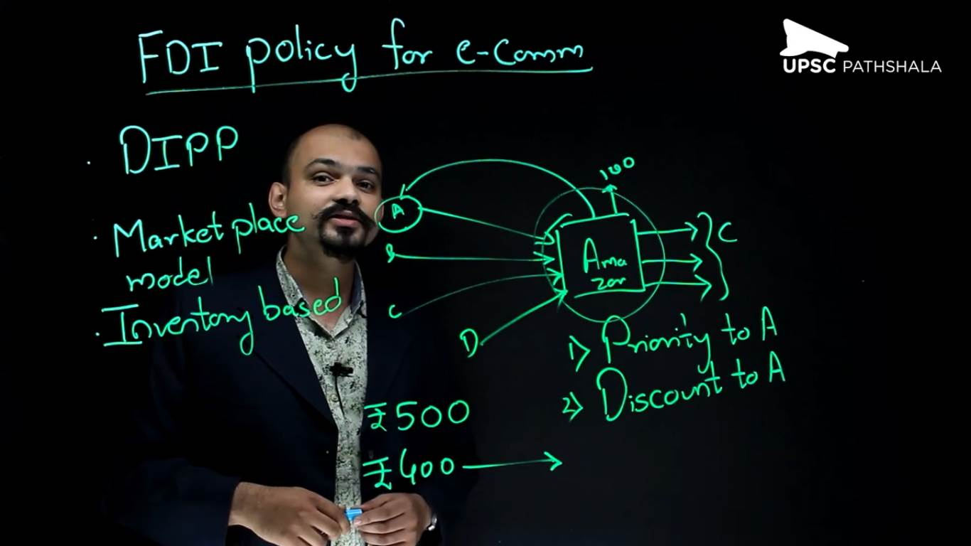 FDI policy for E-Commerce