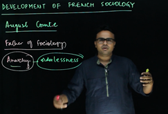 August Comte Development of French Sociology