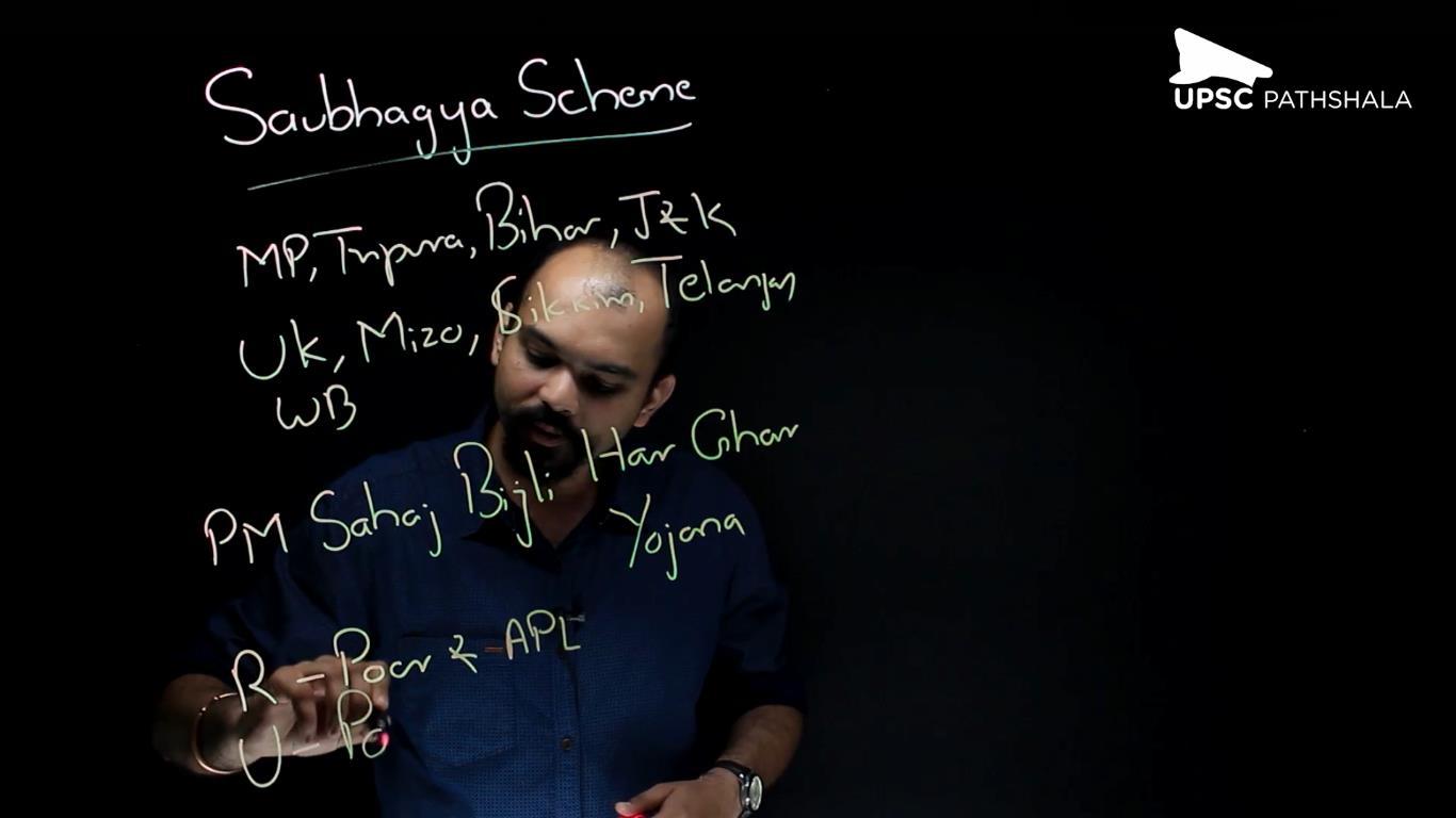 Saubhagya Scheme