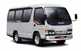 Isuzu Elf Long | Mahendra Rent Car