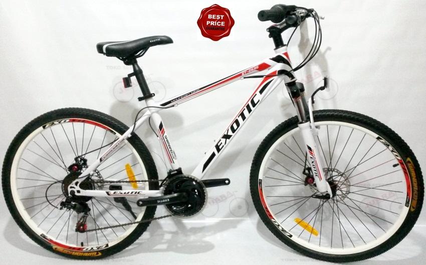 Sepeda Gunung Exotic 2612 | Pondok Sepeda - Sewa menyewa jadi lebih mudah di Spotsewa