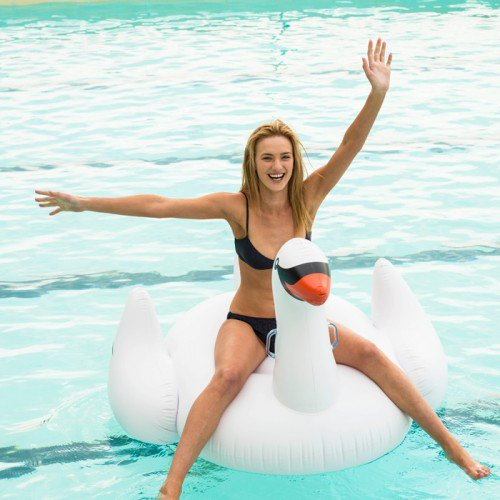 Candice White Swan Floats | Le Float