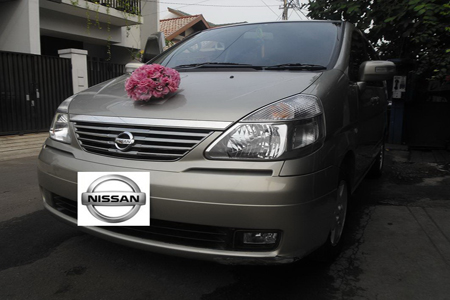 Nissan Serena | Fendi Wedding Car