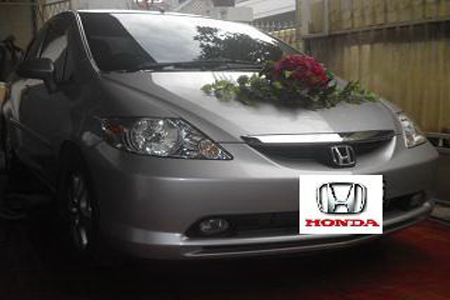 Honda City | Fendi Wedding Car