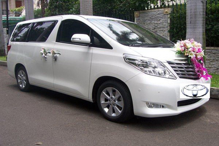 Toyota Alphard | Fendi Wedding Car