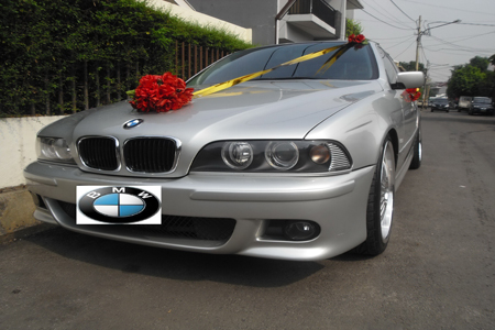 BMW 530i | Fendi Wedding Car