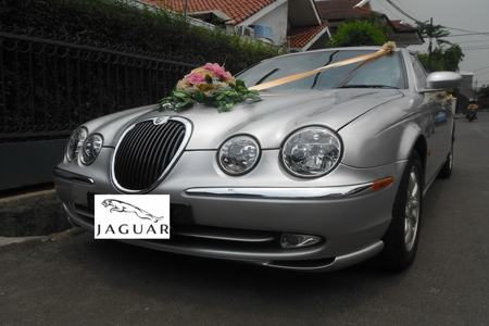 Jaguar S Type | Fendi Wedding Car