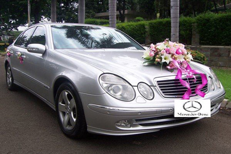 Mercedes E Class | Fendi Wedding Car