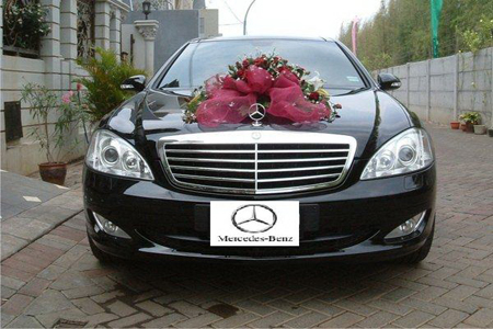Mercedes S Class | Fendi Wedding Car