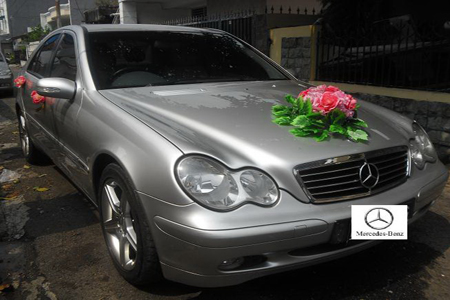 Mercedes C Class | Fendi Wedding Car