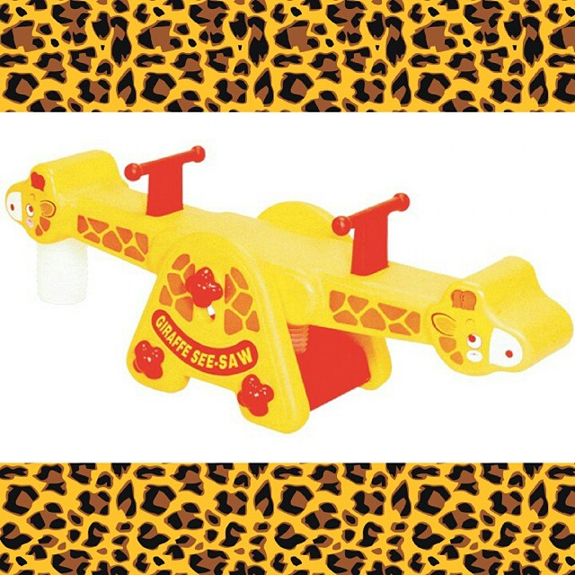 Eduplay Giraffe See Saw | Sylpojessica Toys Rental - Sewa menyewa jadi lebih mudah di Spotsewa