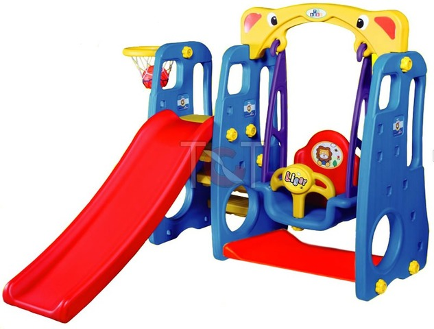 Tobebe 4-in-1 Kids Slide with Swing | Sylpojessica Toys Rental