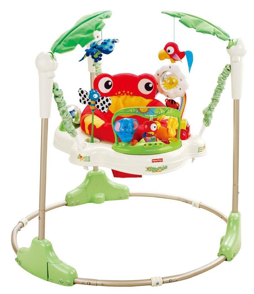 Fisher Price Rainforest Jumperoo | Sylpojessica Toys Rental - Sewa menyewa jadi lebih mudah di Spotsewa