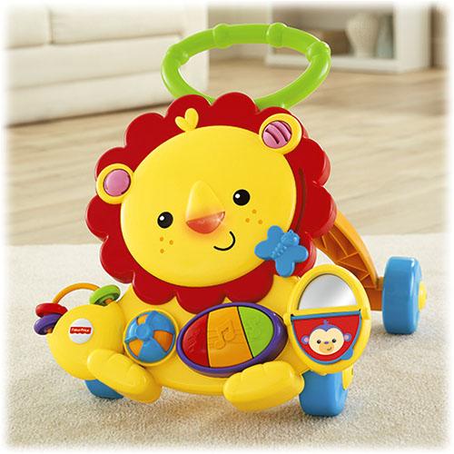 Fisher Price Musical Lion Walker | Sylpojessica Toys Rental - Sewa menyewa jadi lebih mudah di Spotsewa