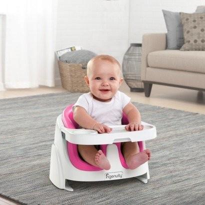 Ingenuity Baby Base 2-in-1 Booster Seat | Sylpojessica Toys Rental - Sewa menyewa jadi lebih mudah di Spotsewa