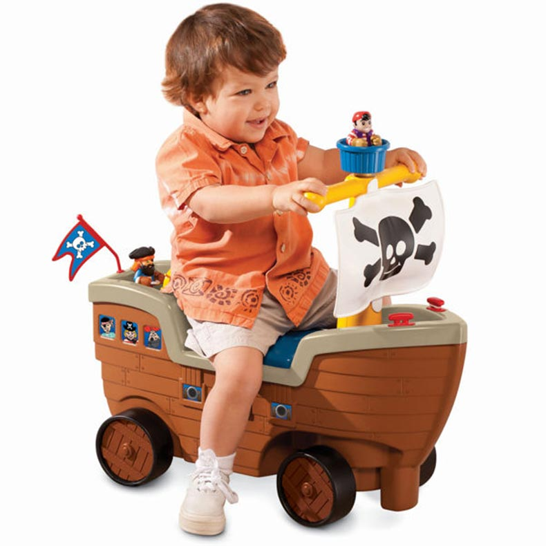 Little Tikes Pirate Ride On | Sylpojessica Toys Rental - Sewa menyewa jadi lebih mudah di Spotsewa