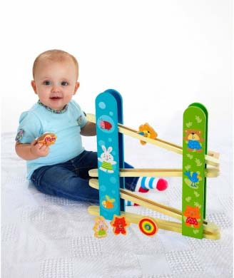ELC Wooden Tumble and Spin Run | Sylpojessica Toys Rental