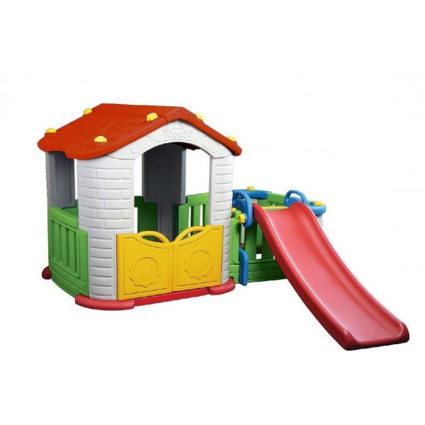Big Happy House with Slide | Sylpojessica Toys Rental - Sewa menyewa jadi lebih mudah di Spotsewa