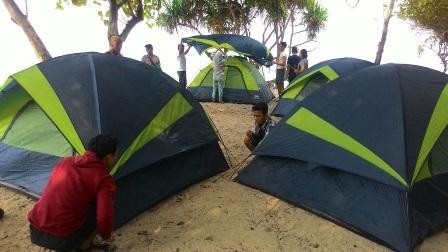 Tenda Dome LA Tracking 5-6 Orang | HR Adventure - Sewa menyewa jadi lebih mudah di Spotsewa