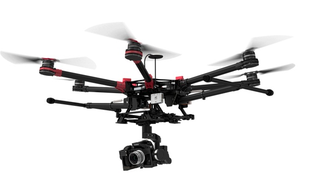 Drones DJI S900 + Zenmuse Z15 HDSLR Panasonic GH4 | Kamera Udara - Sewa menyewa jadi lebih mudah di Spotsewa
