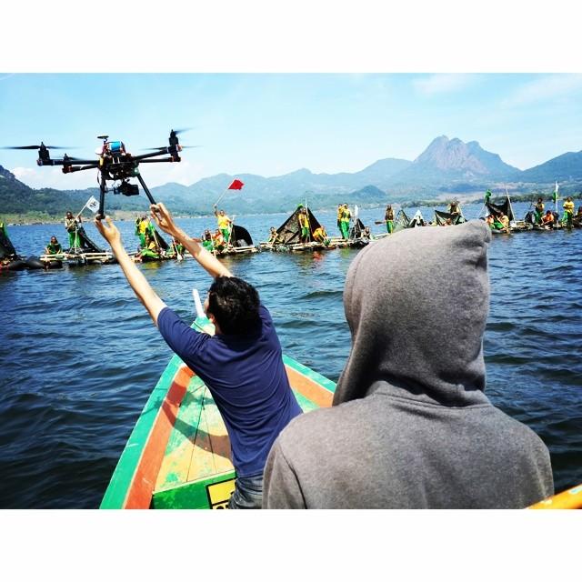 Drones DJI S900 + HDSLR Sony Nex 5N | Kamera Udara