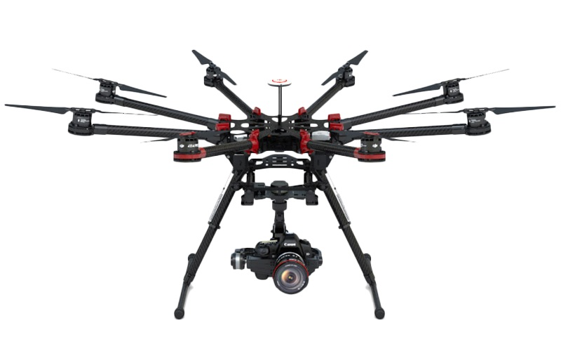 Drones DJI S1000  + Zenmuse Z15 HDSLR Sony A7S/A7R | Kamera Udara - Sewa menyewa jadi lebih mudah di Spotsewa