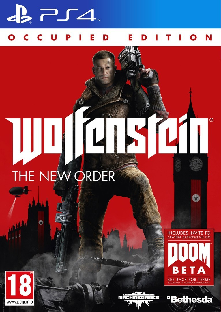 Wolfenstein : The New Order Playstation 4 | Smiley Kids