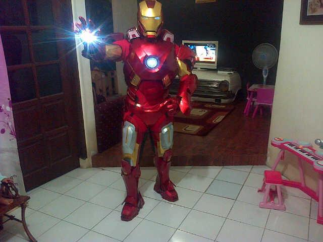 Kostum Ironman Mark 7 | Adhie Rental - Sewa menyewa jadi lebih mudah di Spotsewa