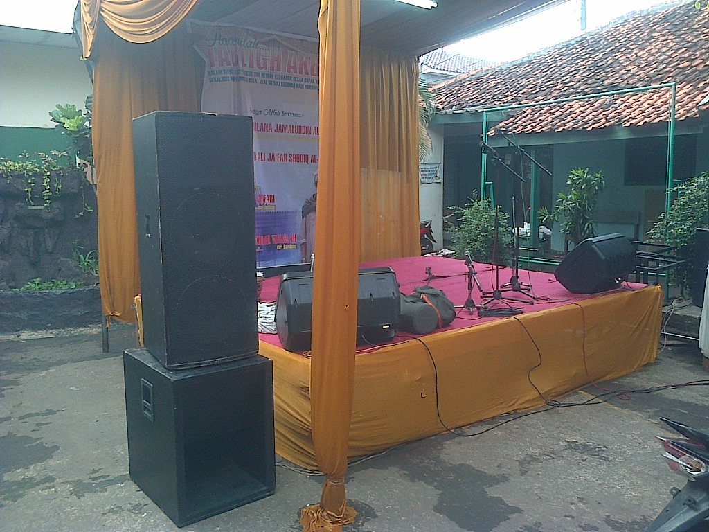 Audio Sound 5,000 watt set | Adhie Rental