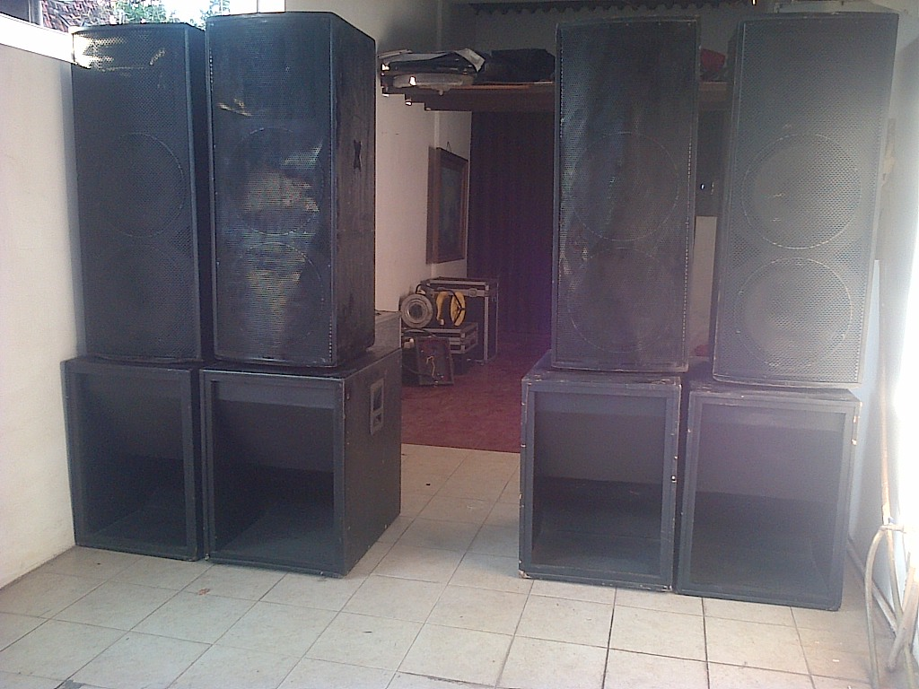 Audio sound 10,000 watt set | Adhie Rental