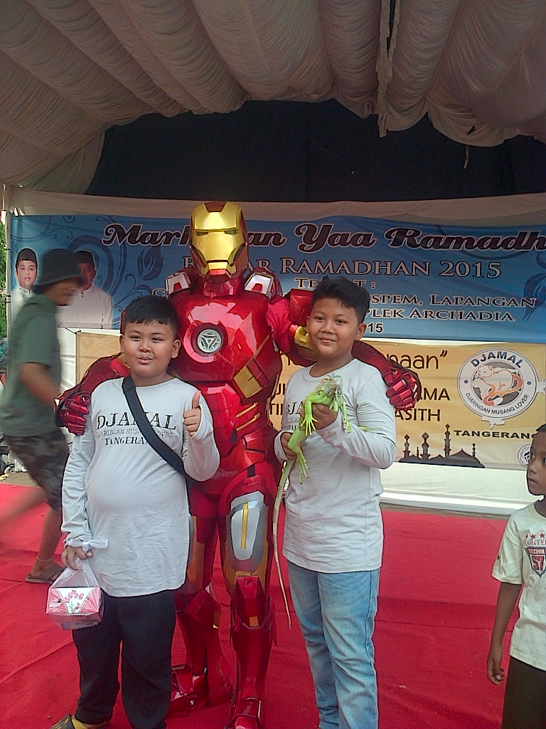 Kostum Ironman Mark 7 | Adhie Rental