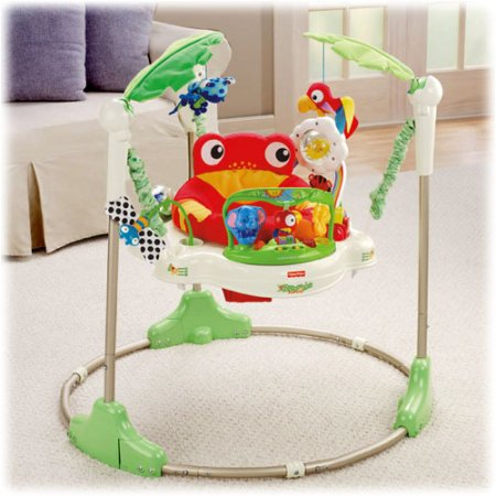 Rainforest Jumperoo | Smiley Baby Toys