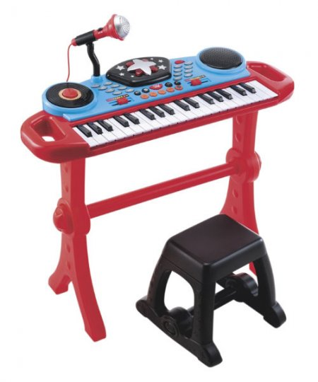 Keyboard and Stool | Smiley Baby Toys