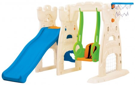 Scramble Slide & Swing | Smiley Baby Toys
