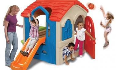 Wriggle N Slide Playhouse | Smiley Baby Toys