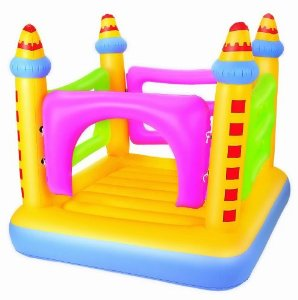 Domestic Castle Bouncher | Smiley Baby Toys