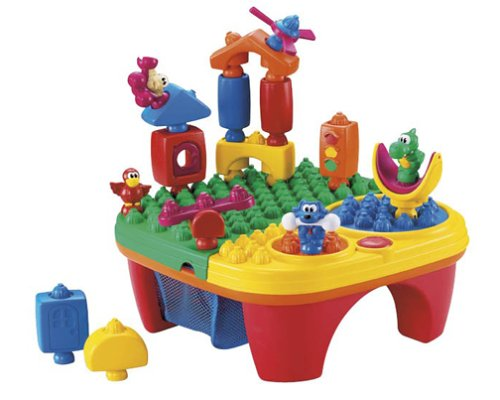 Pop Onz Pop N Twirl Table Building System | Smiley Baby Toys