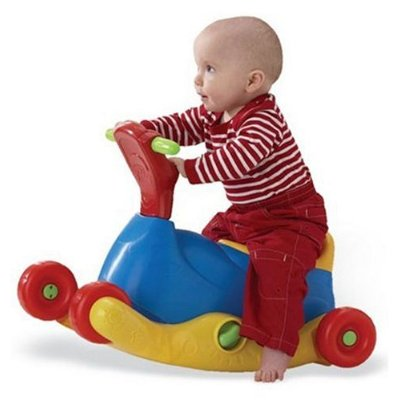 Grow and Go Ride On | Smiley Baby Toys - Sewa menyewa jadi lebih mudah di Spotsewa