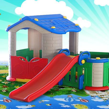 Tobebe Play house and Slide  | Beeboo Toy Rental - Sewa menyewa jadi lebih mudah di Spotsewa