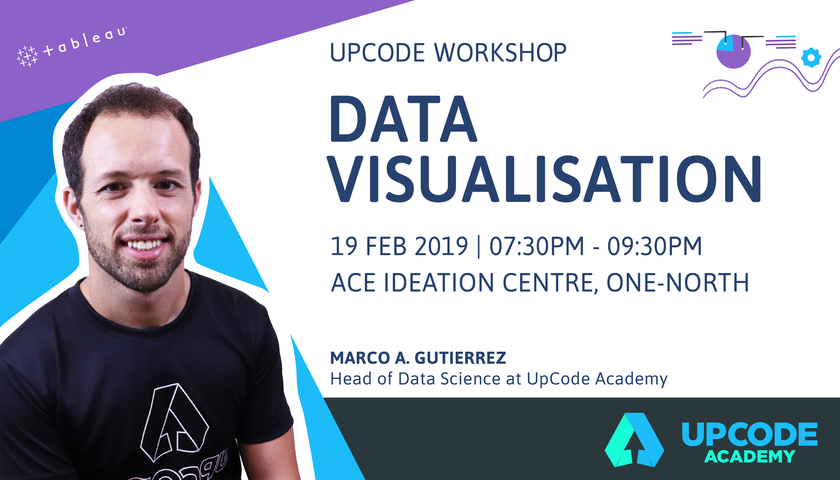 Visualising data with Tableau - Workshop featured image