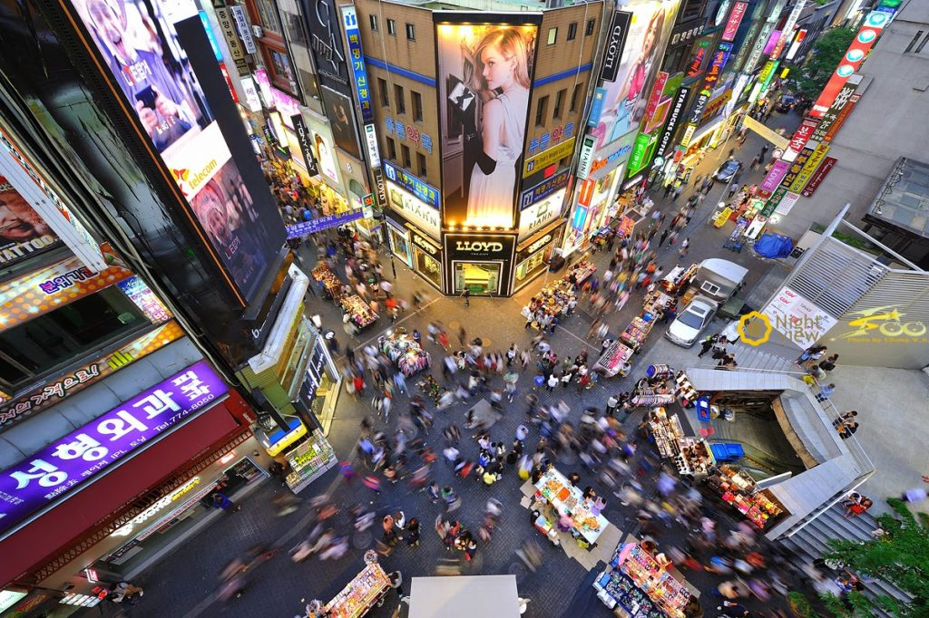 seoul korea shopping guide myeongdong