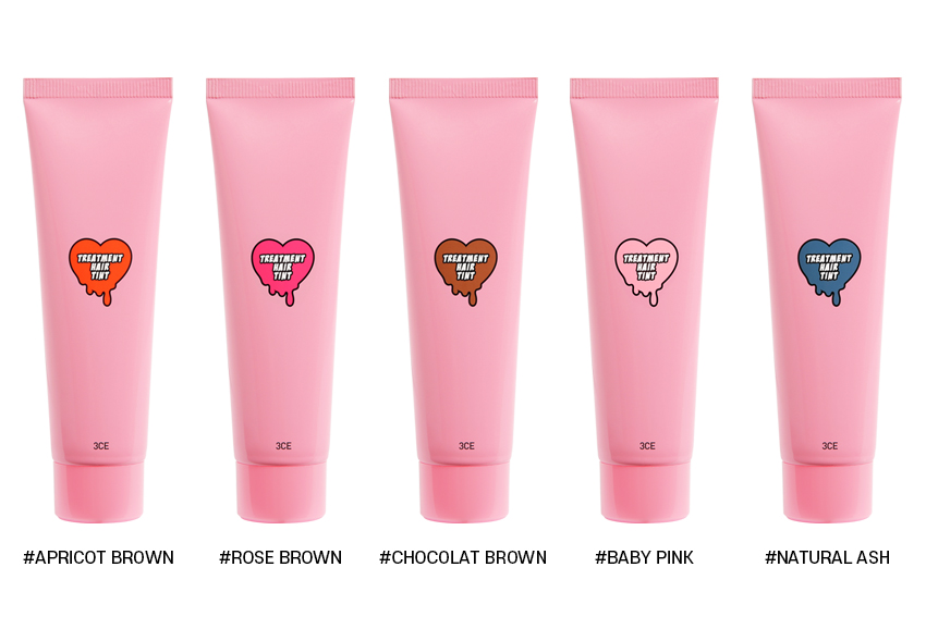 seoul korea shopping guide 3ce treatment hair tint